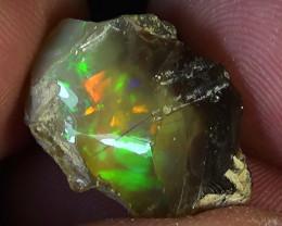 20.40 cts Ethiopian Welo RIBBON rough crystal opal N9 3,5/5