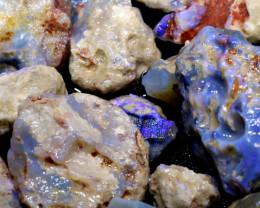 2500cts lightning ridge potch and color opal rough parcel ado-7446