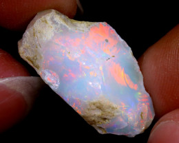 11cts Natural Ethiopian Welo Rough Opal / WR6408