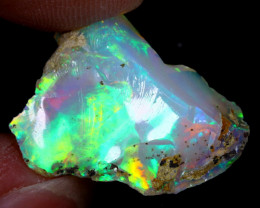 11cts Natural Ethiopian Welo Rough Opal / WR6415