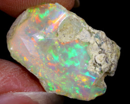 14cts Natural Ethiopian Welo Rough Opal / WR6418