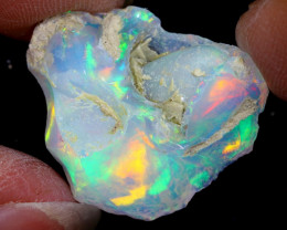 13cts Natural Ethiopian Welo Rough Opal / WR6419