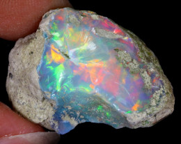 27cts Natural Ethiopian Welo Rough Opal / WR6437