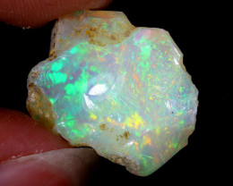 8cts Natural Ethiopian Welo Rough Opal / WR6441