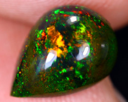 2.04cts Natural Ethiopian Welo Smoked Opal / HM1938