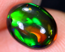 1.39cts Natural Ethiopian Welo Smoked Opal / HM1940