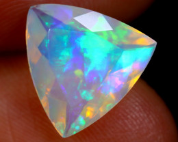 2.59cts Natural Ethiopian Faceted Welo Opal / BF5637