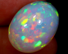 19.30cts Natural Ethiopian Welo Opal / BF5589