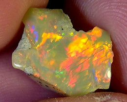 4.90 cts Ethiopian Welo BRUSH STROKES polished brilliant opal N5 5/5