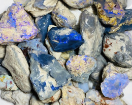 850 CTs Big Rough Nobby Opals- Mix of Gamble & Carvers#214