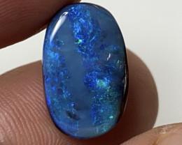 8.54ct Bright Ocean Blue Boulder Opal