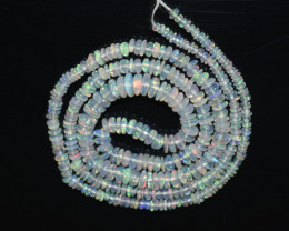 26.20 Ct Natural Ethiopian Welo Opal Beads Play Of Color OB201