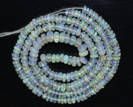 30.00 Ct Natural Ethiopian Welo Opal Beads Play Of Color OB208