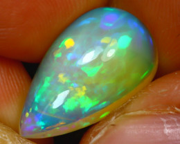 Welo Opal 5.46Ct Natural Ethiopian Play of Color Opal H1806/A57