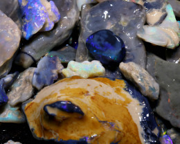 2500CTS BLACK OPAL   ROUGH PARCEL AND  * FREE POTCH* DT-A4339