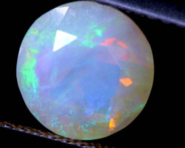 1.36 CTS FACETED CRYSTAL OPAL LIGHTNING RIDGE TBO-A2575