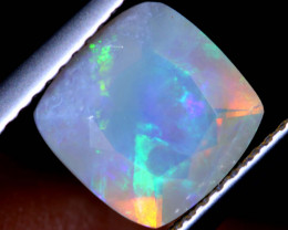1.68 CTS FACETED CRYSTAL OPAL LIGHTNING RIDGE TBO-A2576
