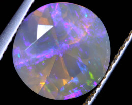 1.49 CTS FACETED CRYSTAL OPAL LIGHTNING RIDGE TBO-A2579