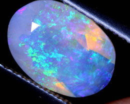 1.17 CTS FACETED CRYSTAL OPAL LIGHTNING RIDGE TBO-A2581