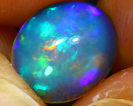 Welo Opal 2.20Ct Natural Ethiopian Play of Color Opal H2011/A57