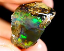 17cts Ethiopian Crystal Rough Specimen Rough / CR3199