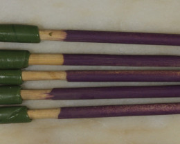 5 Dopping Sticks -Purple Medium 2-15ct [31288]