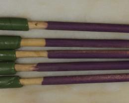 5 Dopping Sticks Purple  Medium 2-15ct [31294]