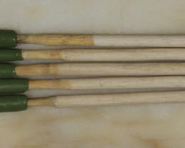5 Dopping Sticks White Small .3-.9ct [31316]