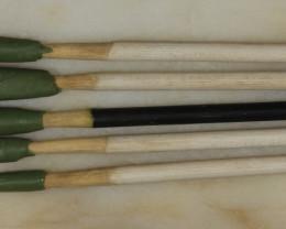 5 Dopping Sticks White Small .3-.9ct [31321]