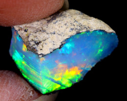5cts Natural Ethiopian Welo Rough Opal / NY1137