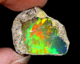 14cts Natural Ethiopian Welo Rough Opal / NY1142