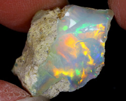 11cts Natural Ethiopian Welo Rough Opal / WR6461