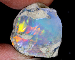 11cts Natural Ethiopian Welo Rough Opal / WR6462