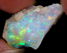 14cts Natural Ethiopian Welo Rough Opal / WR6463