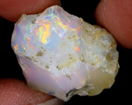 12cts Natural Ethiopian Welo Rough Opal / WR6453