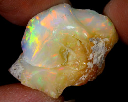 19cts Natural Ethiopian Welo Rough Opal / WR6456
