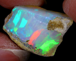 15cts Natural Ethiopian Welo Rough Opal / WR6486