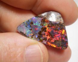 17ct Boulder Opal Carved Polished Stone