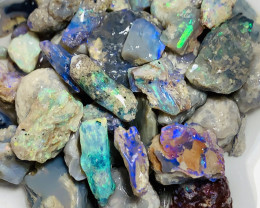Colourful Nobby Rough Opals- Potential to Carve & Cut, 185 CTs#271