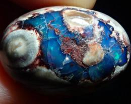 20ct Mexican Matrix Cantera Multicoloured Fire Opal