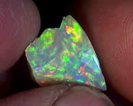 14.00 cts Ethiopian Welo CHAFF CIRRUS polished brilliant opal N7 5/5