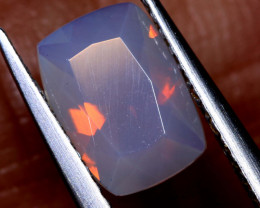 0.8 CTS LIGHTNING RIDGE FACETED CRYSTAL OPAL TBO-A2592
