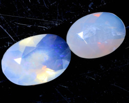 0.8 CTS LIGHTNING RIDGE FACETED CRYSTAL OPAL TBO-A2594
