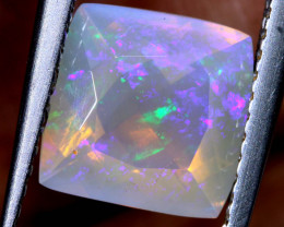 1.6 CTS LIGHTNING RIDGE FACETED CRYSTAL OPAL TBO-A2593