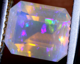 2.1 CTS LIGHTNING RIDGE FACETED CRYSTAL OPAL TBO-A2599