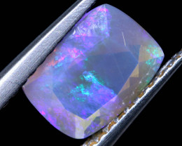 0.95 CTS LIGHTNING RIDGE FACETED CRYSTAL OPAL TBO-A2601