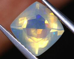 1.3 CTS LIGHTNING RIDGE FACETED CRYSTAL OPAL TBO-A2603