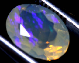 1.25 CTS LIGHTNING RIDGE FACETED CRYSTAL OPAL TBO-A2605