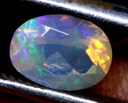 1.05 CTS LIGHTNING RIDGE FACETED CRYSTAL OPAL TBO-A2608