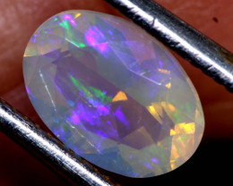 1.15 CTS LIGHTNING RIDGE FACETED CRYSTAL OPAL TBO-A2611